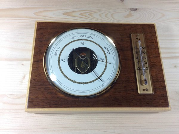 Fischer Barometer Thermometer 5027